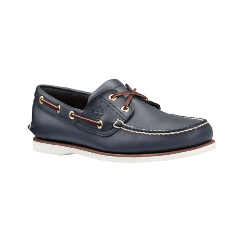 Timberland Mens Earthkeepers 2-Eye Boat Shoes Navy Smooth