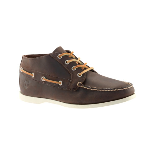 Timberland Mens Earthkeepers Brig 4-Eye Boat Shoes Brown Smooth
