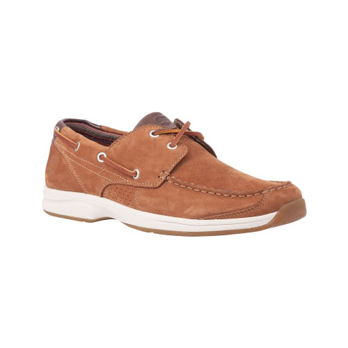 Timberland Mens Earthkeepers Hulls Cove 2-Eye Boat Shoes Red Brown Nubuck
