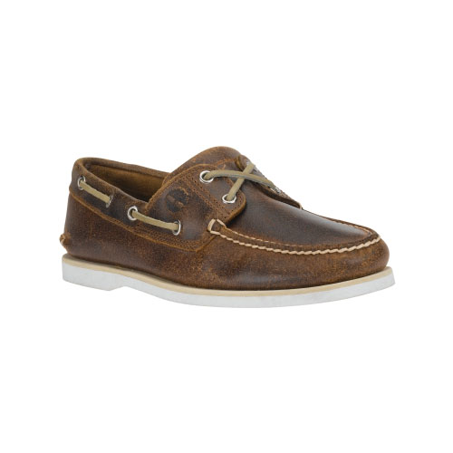 Timberland Mens Earthkeepers 2-Eye Boat Shoes  Brown Oiled