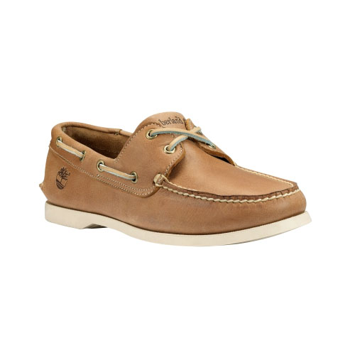 Timberland Mens Earthkeepers Brig 2-Eye Boat Shoes Tan