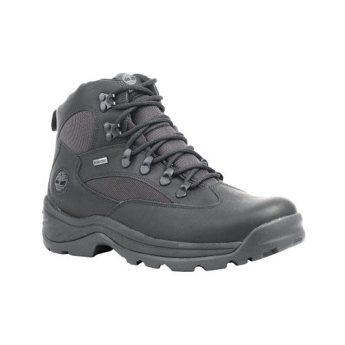 Timberland Mens Chocorua Trail Mid Waterproof Hiking Boots Black