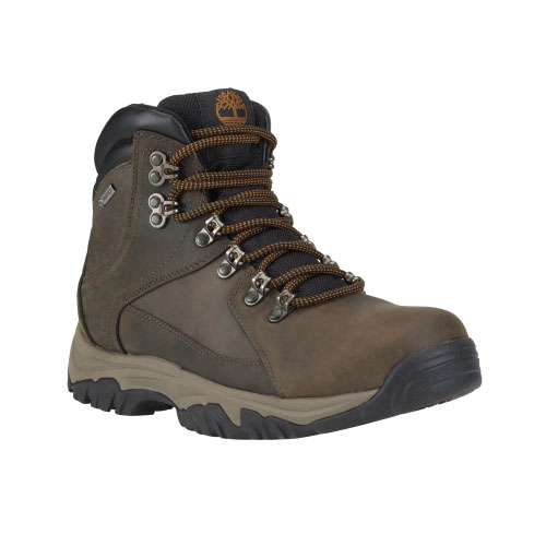 Timberland Mens Thorton Mid Waterproof Hiking Boots Dark Brown