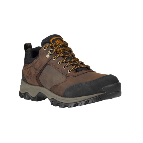 Timberland Mens Mt. Maddsen Low Waterproof Hiking Shoes Brown