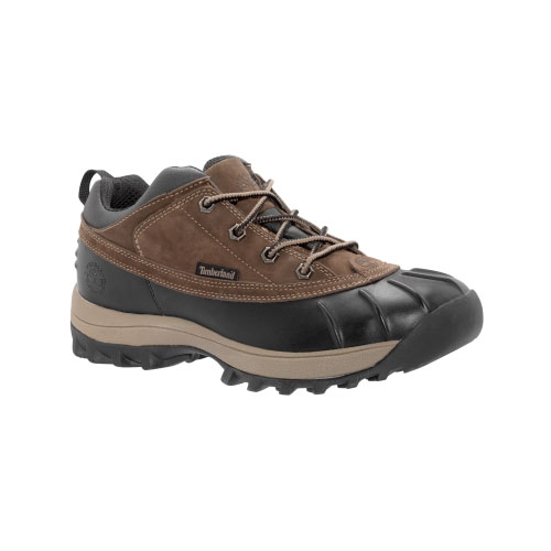 Timberland Mens Canard Low Waterproof Shoes Brown/Black
