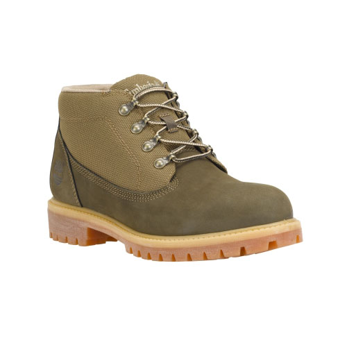 Timberland Mens Campsite Boots Olive Nubuck