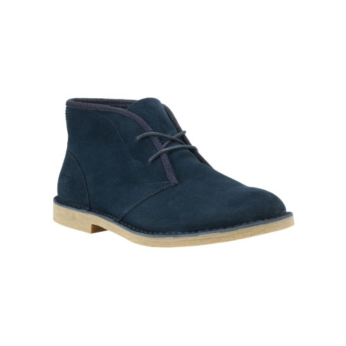 Timberland Mens Earthkeepers Brasstown Chukka Boots Navy Suede