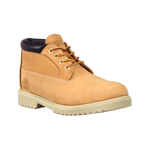 Timberland Mens Waterproof Chukka Boots  Wheat Nubuck