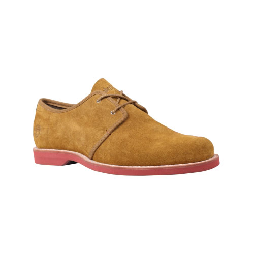 Timberland Mens Earthkeepers Stormbuck Lite Oxford Shoes Rust Suede