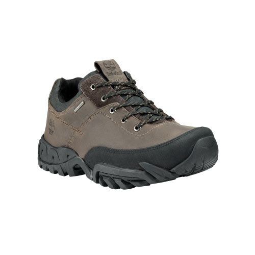 Timberland Mens Earthkeepers Rolston Low Waterproof Shoes Dark Brown