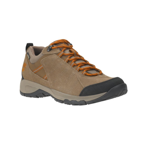 Timberland Mens Tilton Low Leather Waterproof Hiking Shoes Brown