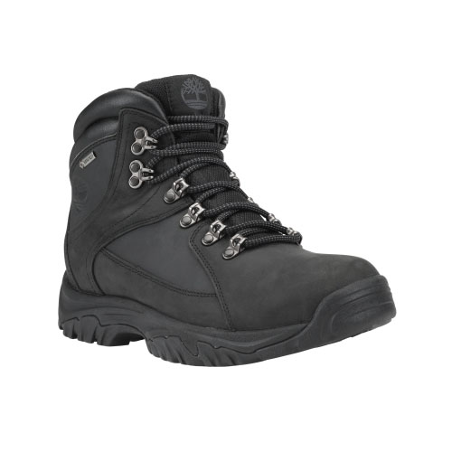 Timberland Mens Thorton Mid Waterproof Hiking Boots Black
