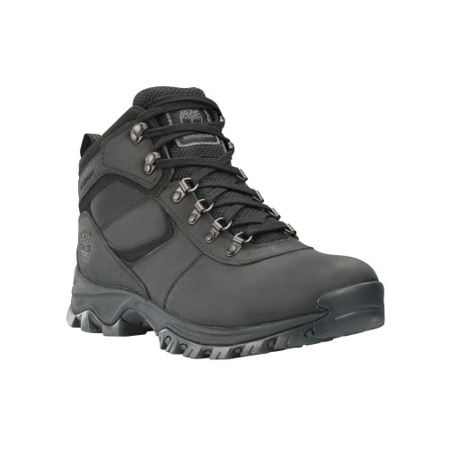 Timberland Mens Earthkeepers Mt. Maddsen Mid Hiking Boots Black