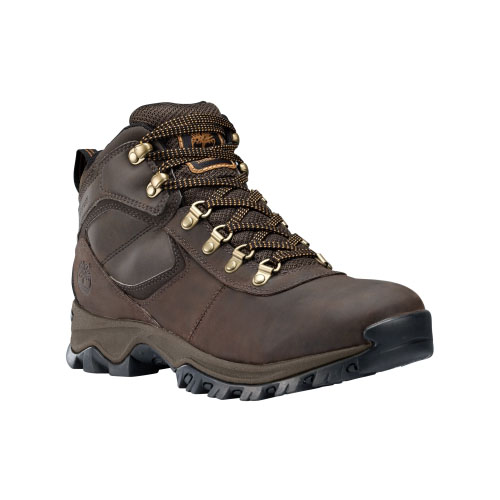Timberland Mens Earthkeepers Mt. Maddsen Mid Hiking Boots Dark Brown