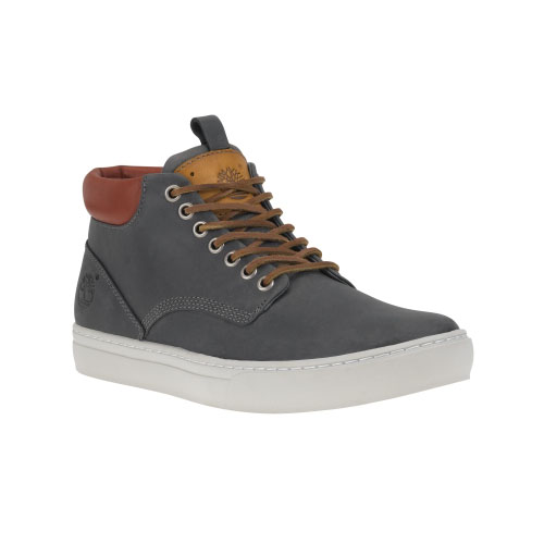 Timberland Mens Earthkeepers Adventure Cupsole Chukka Shoes Slate Oiled Full-Grain