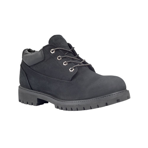 Timberland Mens Classic Oxford Low Waterproof Boots Black Nubuck