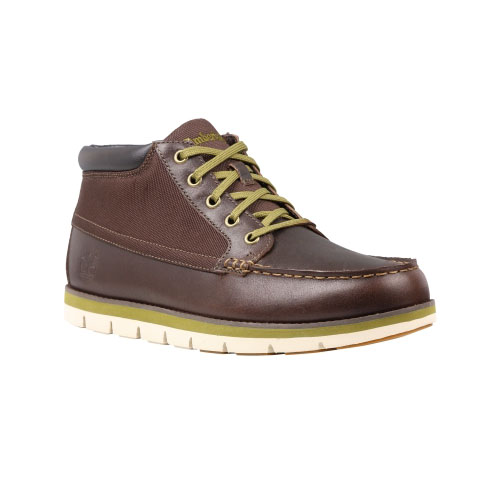 Timberland Mens Earthkeepers Harborside Moc Toe Chukka Shoes Bark Oiled