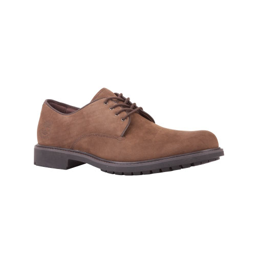 Timberland Mens Earthkeepers Stormbuck Plain Toe Oxford Shoes  Dark Brown