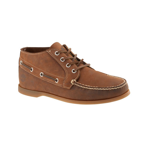 Timberland Mens Earthkeepers Brig 4-Eye Boat Shoes Brown Nubuck