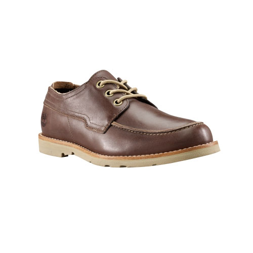 Timberland Mens Earthkeepers Rugged LT Oxford Shoes Brown Full-Grain