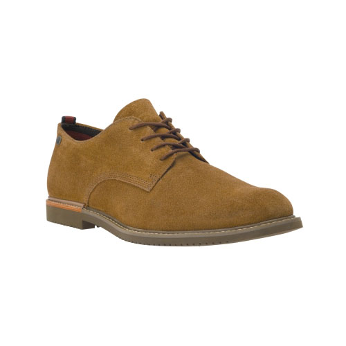 Timberland Mens Earthkeepers Brook Park Oxford Shoes Rust Suede
