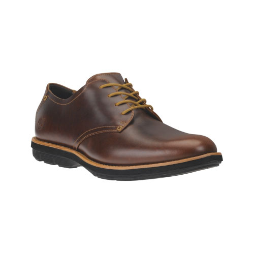 Timberland Mens Earthkeepers Kempton Oxford Shoes Brown Full-Grain