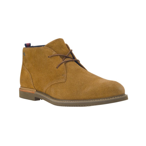 Timberland Mens Earthkeepers Brook Park Suede Chukka Shoes Rust Suede
