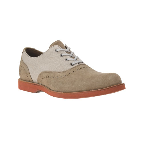 Timberland Mens Earthkeepers Stormbuck Lite Brogue Shoes Tan Suede