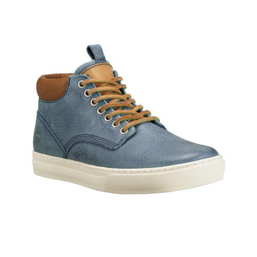 Timberland Mens Earthkeepers Adventure Cupsole Chukka Shoes Blue Buffed