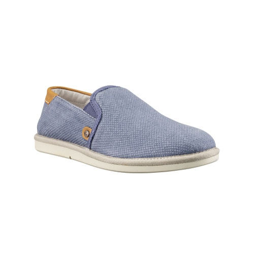 Timberland Mens Earthkeepers City Shuffler Slip-On Shoes Slate Burlap