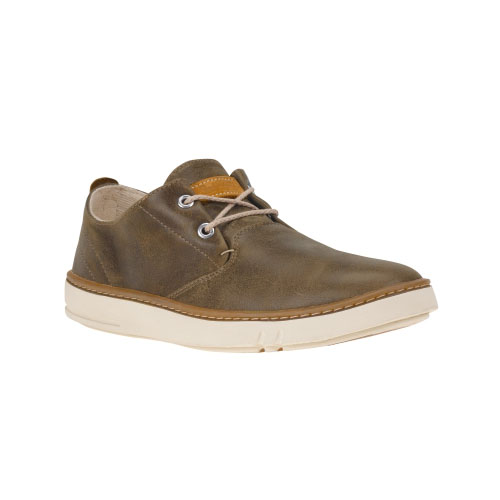 Timberland Mens Hookset Handcrafted Leather Oxford Shoes  Brown Full-Grain