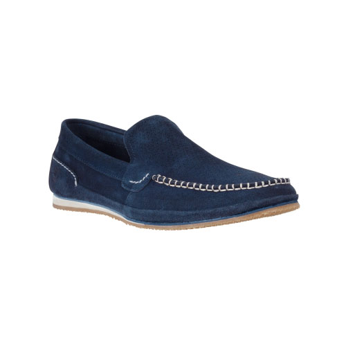 Timberland Mens Hayes Valley Leather Loafers  Navy Suede