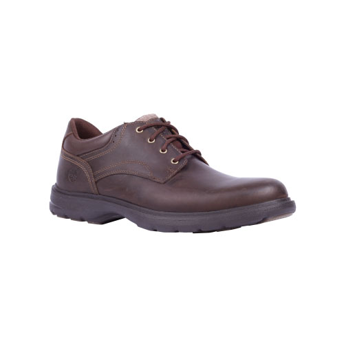 Timberland Mens Earthkeepers Richmont Plain Toe Oxford Shoes Dark Brown