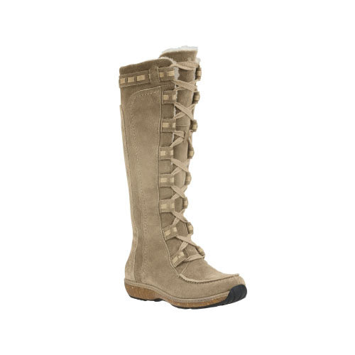 Timberland Womens Earthkeepers Granby Tall Waterproof Boots Taupe