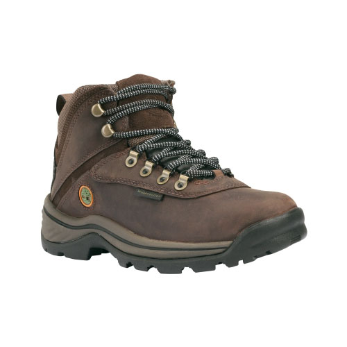 Timberland Womens White Ledge Mid Waterproof Hiking Boots Dark Brown