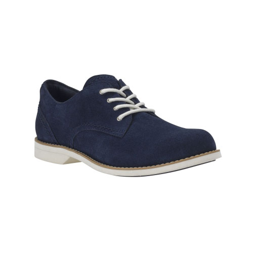 Timberland Womens Millway Suede Oxford Shoes Navy Suede