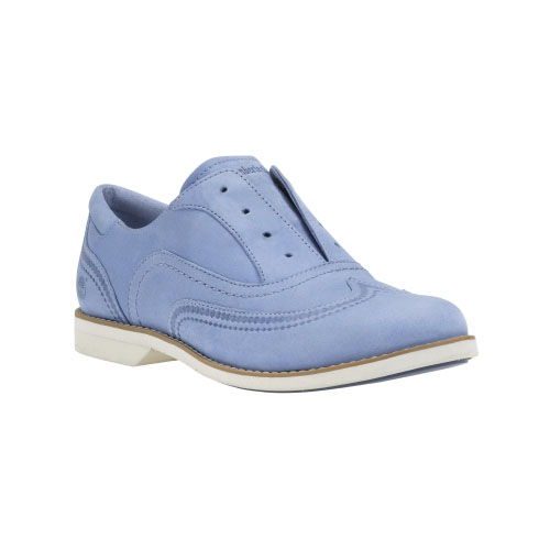 Timberland Womens Millway Laceless Oxford Shoes Deep Periwinkle