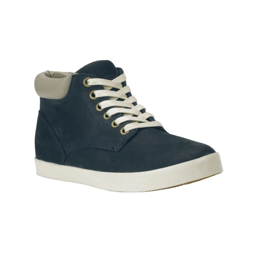Timberland Womens Glastenbury Chukka Shoes Navy Nubuck