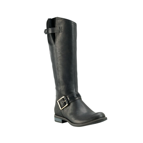 Timberland Womens Earthkeepers Savin Hill Tall Boots Black Forty Leather