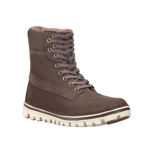 Timberland Womens Earthkeepers Brookton 6-Inch Classic Boots  Dark Brown