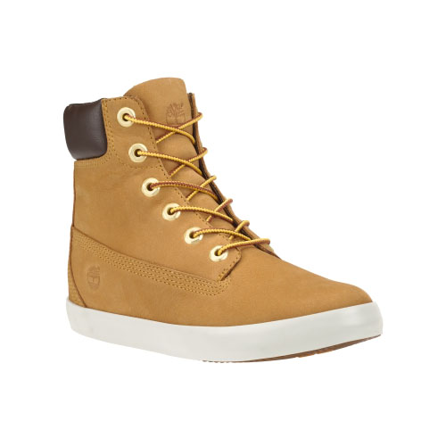 Timberland Womens Earthkeepers Glastenbury High-Top Shoes Wheat Nubuck