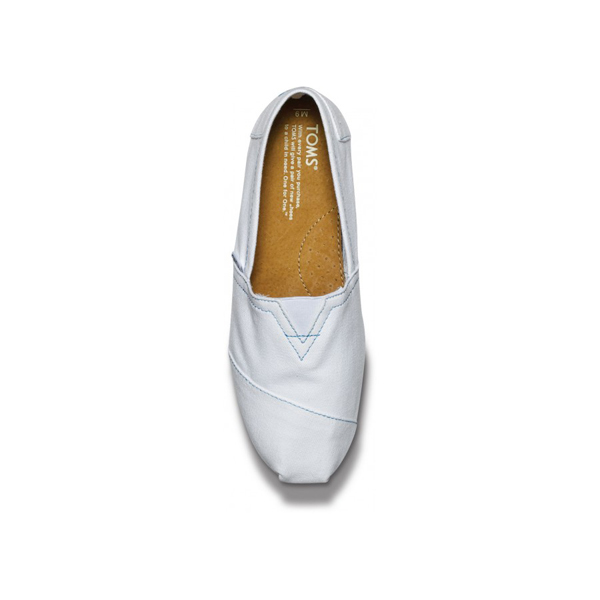 Toms White Canvas Men Classics