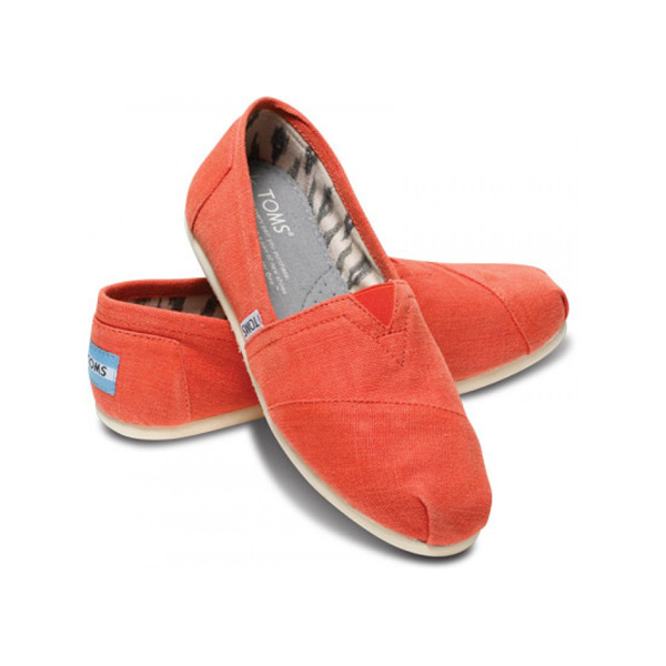 Toms Earthwise Orange Women Classics