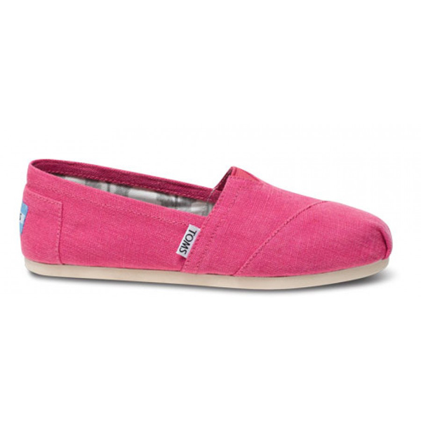 Toms Earthwise Pink Women Vegan Classics