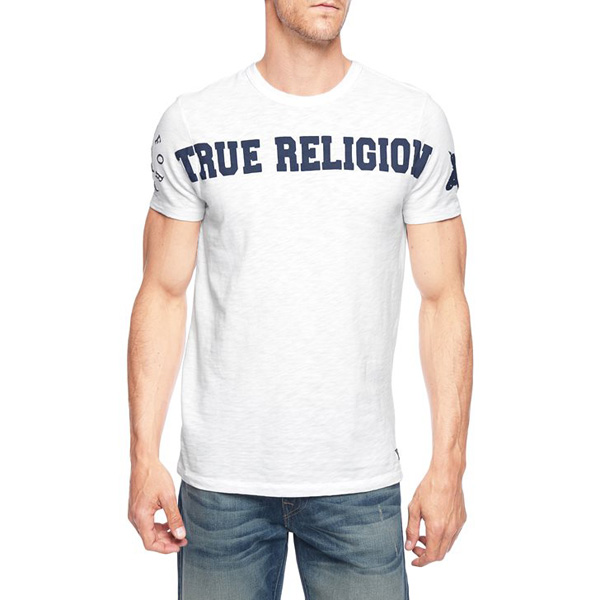 TRUE RELIGION EUROPEAN LOGO MENS T-SHIRT