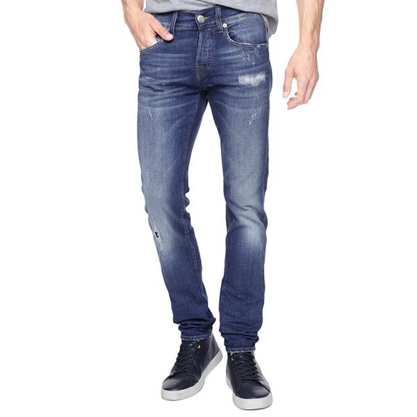 TRUE RELIGION EUROPEAN ROCCO SLIM MENS JEAN