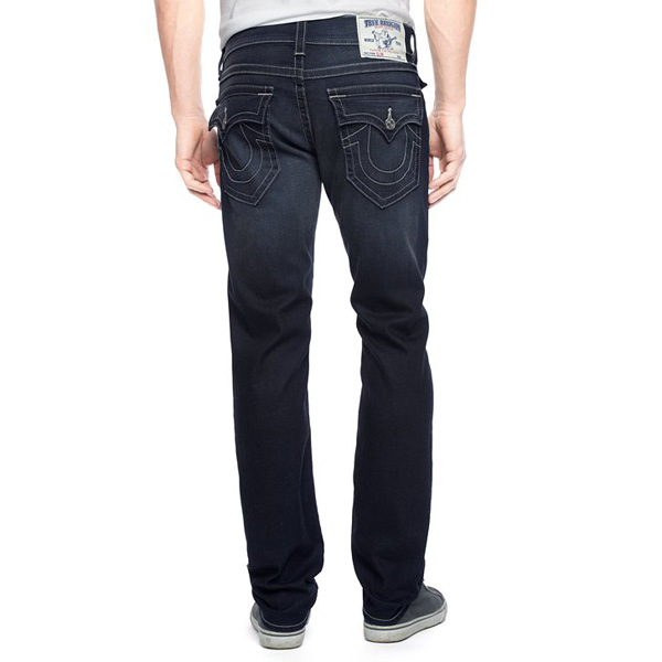 TRUE RELIGION HAND PICKED SLIM NATURAL STITCH MENS JEANS