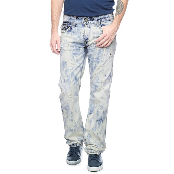 TRUE RELIGION RICKY STRAIGHT MINERAL REEF SUPER T MENS JEAN