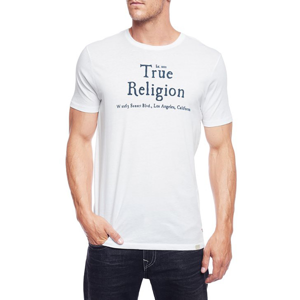 TRUE RELIGION TRUE RELIGION MENS T-SHIRT