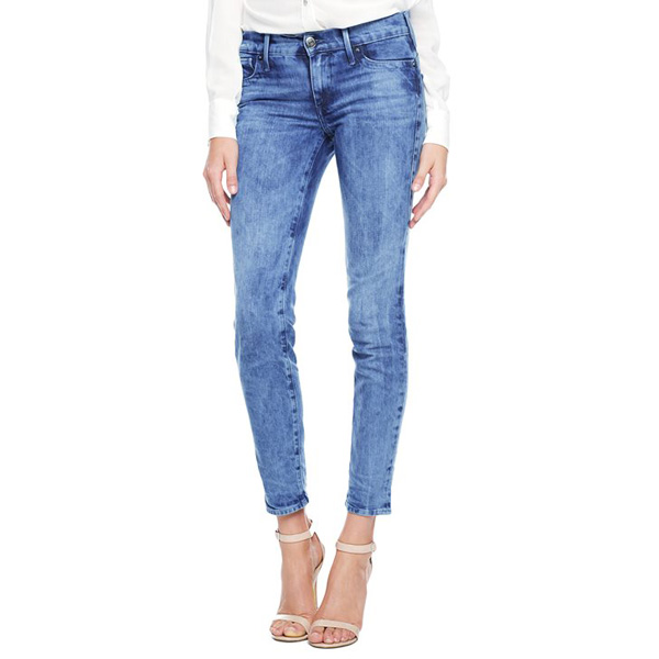 TRUE RELIGION ITALIAN CHRISSY MID RISE SUPER SKINNY WOMENS JEAN